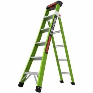 The Best Step Ladder Option: Little Giant Ladders 13610-001 Green King Kombo