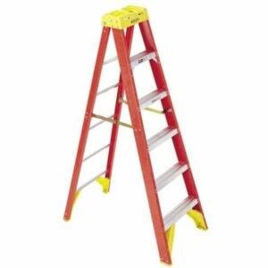 The Best Step Ladder Option: Werner 6206 stepladders, 6-Foot