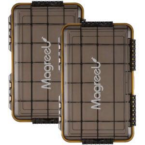 最佳搭配盒子选项:Magreel防水钓具箱
