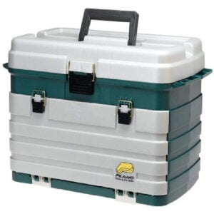 最佳搭配盒子选项:Plano 4-Waster Tackle Box