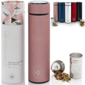 Best Tea Infuser Options: Teabloom All-Purpose Beverage Tumbler