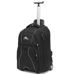 Best Travel Backpack Options: High Sierra Freewheel Wheeled Laptop Backpack
