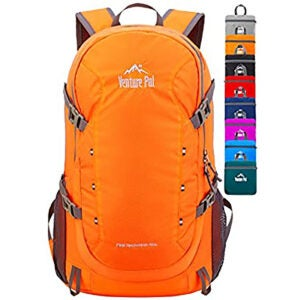 Best Travel Backpack Options: Venture Pal 40L Lightweight Packable Travel Hiking Backpack Daypack