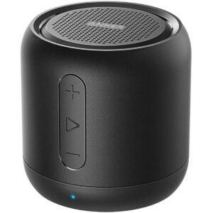 Best Travel Gadgets Options: Anker Soundcore Mini, Super-Portable Bluetooth Speaker