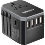 Best Travel Gadgets Options: EPICKA Universal Travel Adapter One