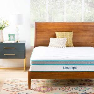 Best Twin Mattress for Kids Options: Linenspa 10 Inch Memory Foam