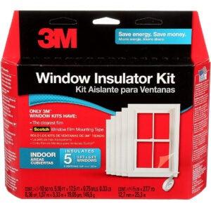 最佳窗户保温套件选项:3M室内窗体绝缘子套件