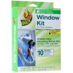 最佳窗户保温套件选择:鸭品牌室内10窗口收缩膜