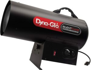 Dyna-Glo 125,000-BTU Quiet Portable Propane Forced Air Heater