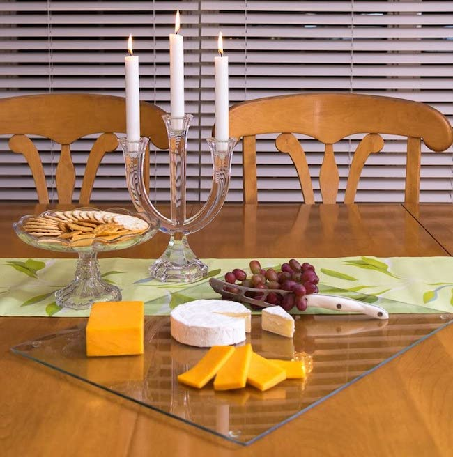 glass cutting board cheese board