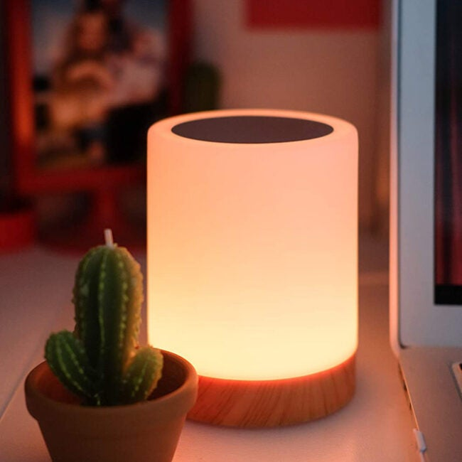 glowing friendship lamp