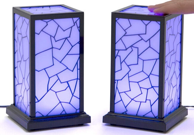 stained glass friendship lamps