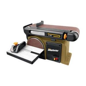 The Best Bench Sander Option: Rockwell Belt Disc Combo Sander
