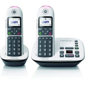 The Best Answering Machine Options: Motorola CD5012 DECT 6.0 Cordless Phone