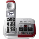 The Best Answering Machine Options: PANASONIC Amplified Cordless Phone with Answering