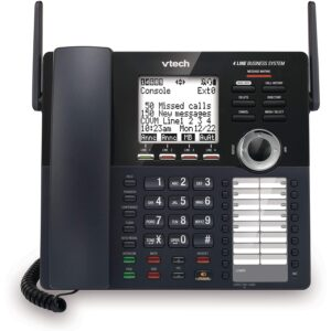 The Best Answering Machine Options: VTech AM18447 Main Console 4-Line Expandable