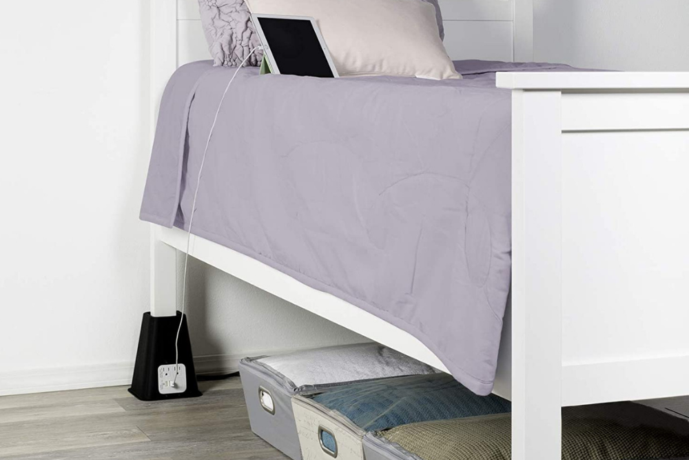 The Best Bed Risers For Sy Support, How To Use Furniture Risers