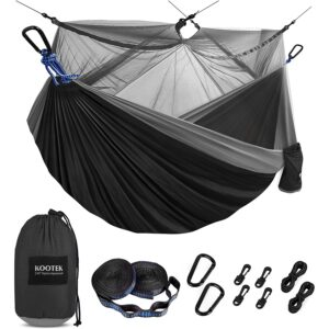 The Best Camping Hammock Options: Kootek Camping Hammock with Mosquito Net