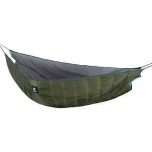 最佳露营吊床选择:一个底格里斯盾摇篮双吊床下被