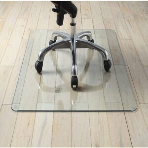 Lorell Tempered Glass Chair Mat