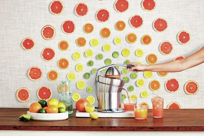 最好的柑橘榨汁机