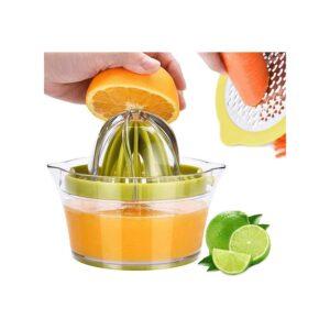 最好的柑橘榨汁机选项:Drizom Citrus榨汁机手动手工挤压器12oz