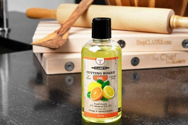 The Best Cutting Board Oil Option