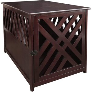 The Best Dog Crate Options: Casual Home Wooden Pet Crate