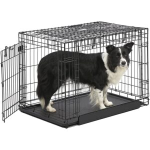 The Best Dog Crate Options: MidWest Homes for Pets Ovation Folding Dog Crate