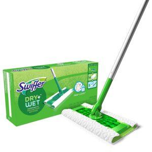 The Best Dust Mop Options: Swiffer Sweeper Dry + Wet All Purpose Floor Mop