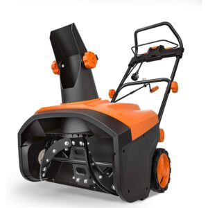 The Best Electric Snow Blower Options: TACKLIFE Snow Blower, 15Amp Electric Snow Blower