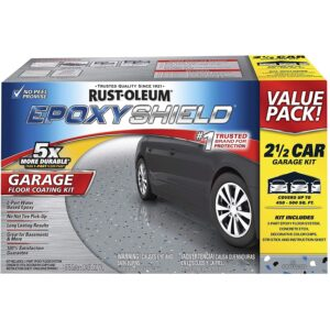 The Best Epoxy Resin Options: Rust-Oleum 261845 EpoxyShield Garage Floor Coating