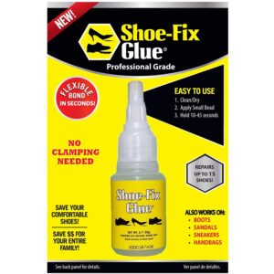 The Best Glue For Shoes Options: Shoe-Fix Shoe Glue- Instant Professional Grade