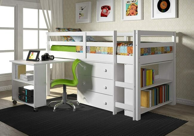 The Best Kids Bed With Desk