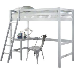 The Best Kids Loft Bed With Desk Option: Hillsdale Furniture Caspian Twin Loft Bed