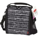The Best Lunch Box Options: Rubbermaid LunchBlox Lunch Bag, Medium, Black Etch