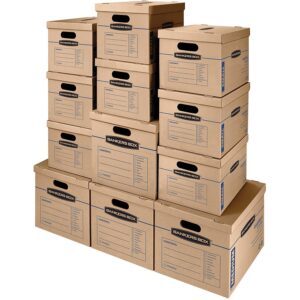The Best Moving Boxes Options: Bankers Box SmoothMove Classic Moving Boxes