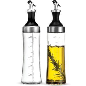 The Best Olive Oil Dispensers Option: FineDine Superior Glass Oil and Vinegar Dispenser