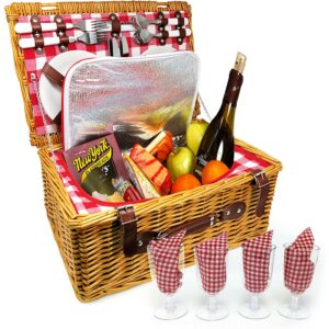 The Best Picnic Basket Options Nature