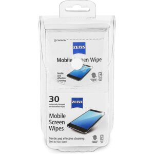 The Best Screen Cleaner Option: ZEISS Mobile screen wipes 30ct Pouch