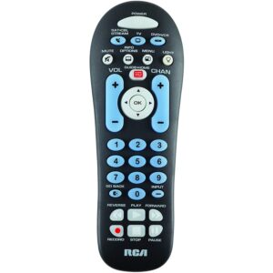 The Best Universal Remotes Options: RCA RCR313BR Big Button Three-Device Universal Remote