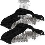 The Best Velvet Hangers Options 30Pack