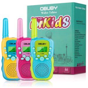 The Best Walkie Talkies For Kids Option: Obuby Toys Walkie Talkies for Kids