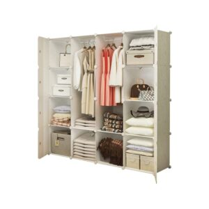The Best Wardrobe Options: HOMIDEC Portable Closet Wardrobe with Hanging Rod