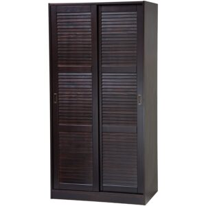 The Best Wardrobe Options: Palace Imports 100% Solid Wood 2-Door Wardrobe