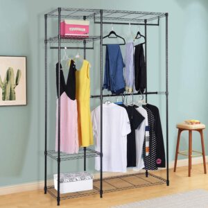 The Best Wardrobe Options: S AFSTAR Heavy Duty Clothing Garment Rack