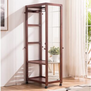 The Best Wardrobe Options: Tiny Times 67'' Tall Free Standing Closet Wardrobe