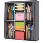 The Best Wardrobe Options: YOUUD Wardrobe Storage Closet Clothes Portable