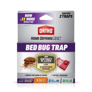 The Best Bed Bug Trap Option: Ortho 0465705 1, 2-Pack