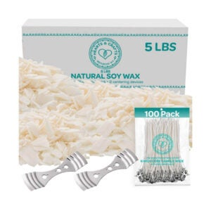 The Best Candle Making Kit Options: Hearts and Crafts Soy Wax and Candle-Making Supplies